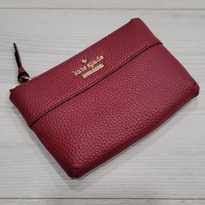 Kate Spade Mila Leather Zip Pouch